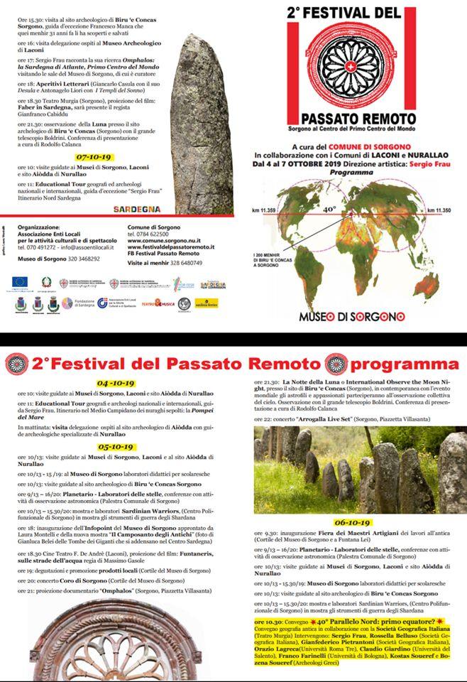 2 festival del passato remoto